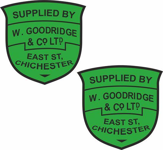 Picture of W.Goodridge Chichester Dealer Decals / Sticker