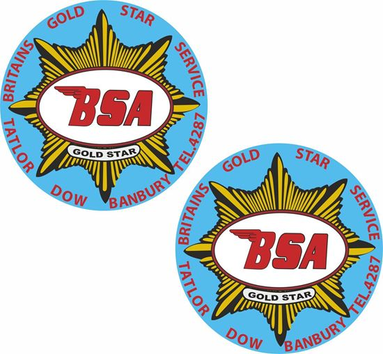 Picture of Tatlor Dow Banbury Dealer Decals / Stickers
