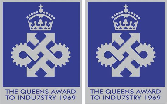 Picture of The Queens Award to Industruy1969  Decals / Stickers