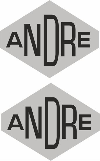 Picture of Andre Motorcycle replacement Decals / Stickers