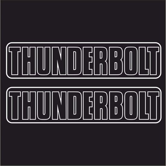 Picture of BSA Thunderbolt Decals  / Stickers