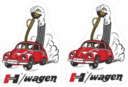 Picture of Hurst Wagen Decals / Stickers
