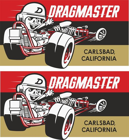 Picture of Dragmaster Decals / Stickers