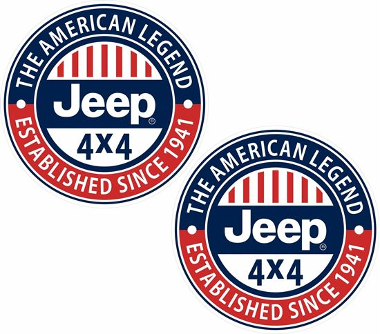 Picture of Jeep 4x4 Decals / Stickers