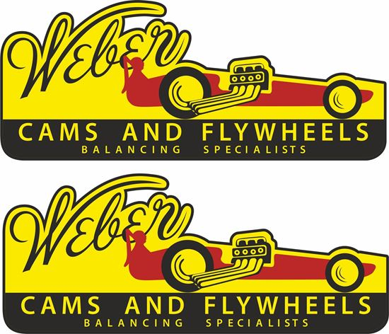 "Picture of ""Weber"" Decals / Stickers"