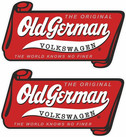 Picture of Old German Decals / Stickers