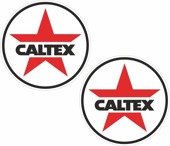 Picture of Caltex Decals / Stickers