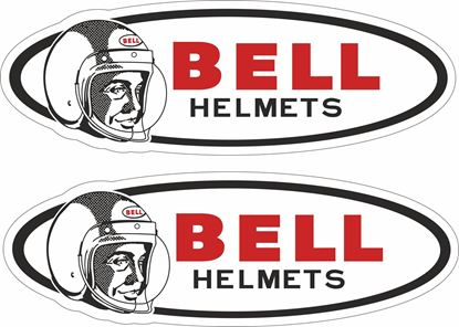 "Picture of ""Bell"" Shield Decals / Stickers"