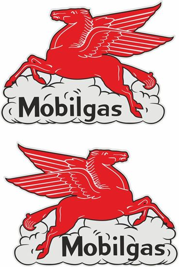 Picture of Pegasus Mobil Gas general panel Decals / Stickers