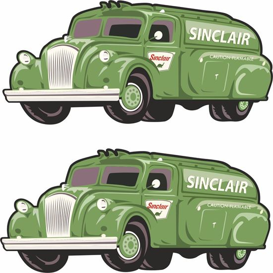 Picture of Sinclair Decals / Stickers