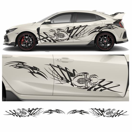 Picture of JDM side Beetle Tribal Graphics