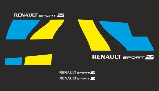 Picture of Renault Megane R26 Cup Decals / Stickers CUSTOM