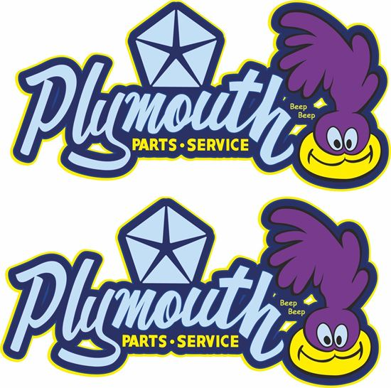 Picture of Dodge Plymouth Parts - Service Decals / Stickers