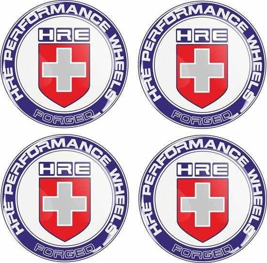 Picture of HRE Wheel centre Gel Badges