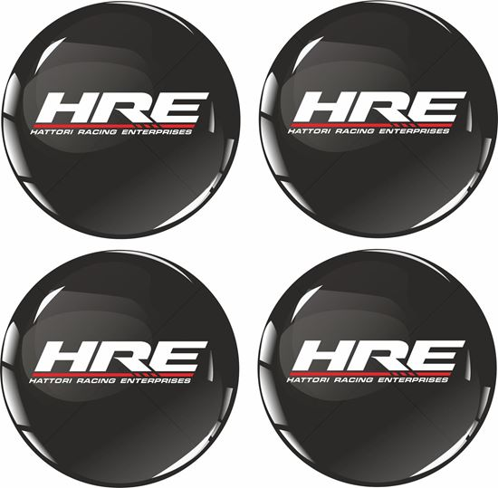 Picture of HRE Wheel centre Gel Badges