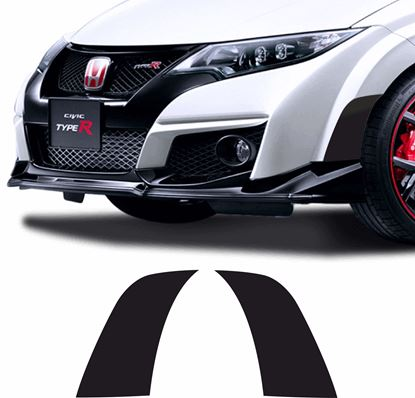 Picture of Honda Civic FK2 Front side lower Arch overlay Vinyl / Stickers