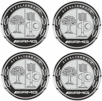 Picture of AMG Wheel centre Gel Badges