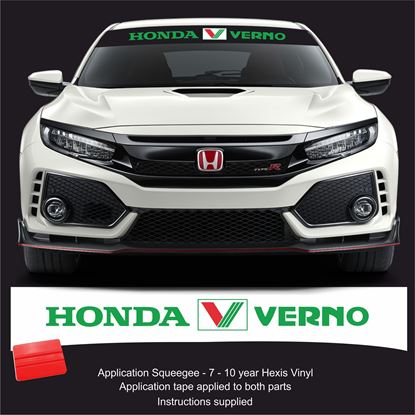 Picture of Honda Verno Sunstrip  / Sticker FITS ALL