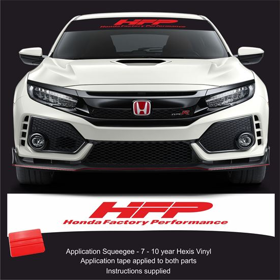 Picture of Honda HFP Sunstrip  / Sticker FITS ALL