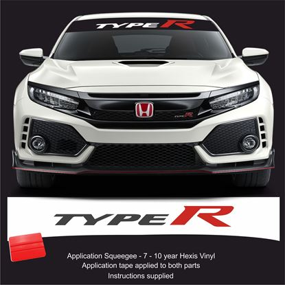 Picture of Honda Type R Sunstrip  / Sticker FITS ALL