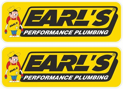 Picture of Earls Performance Plumbing Decals / Stickers