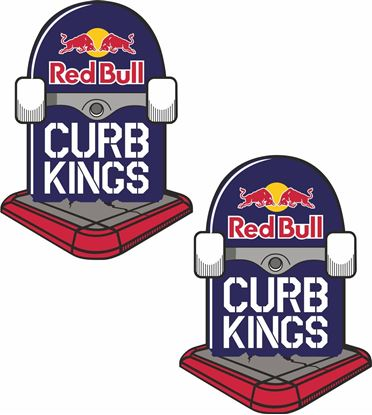 Picture of Red Bull Curb Kings Decals / Stickers