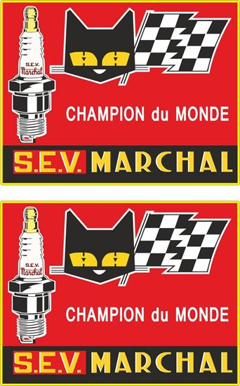 Picture of S.E.V. Marchal panel  Decals / Stickers