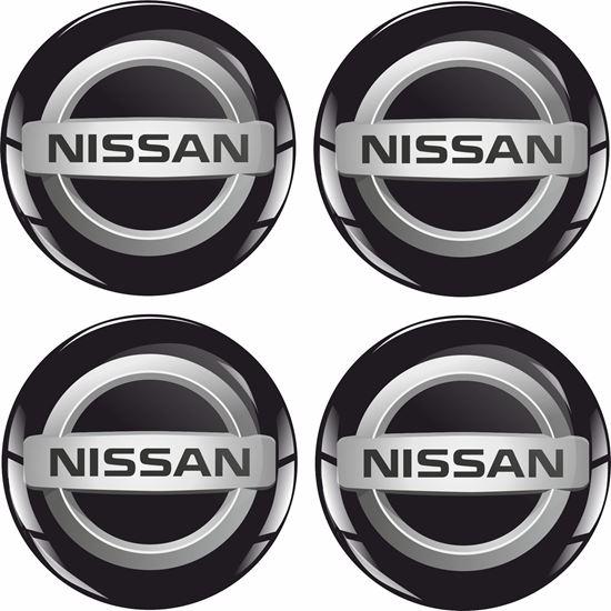 Picture of Nissan Wheel centre Gel Badges