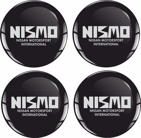 Picture of Nismo Wheel centre Gel Badges
