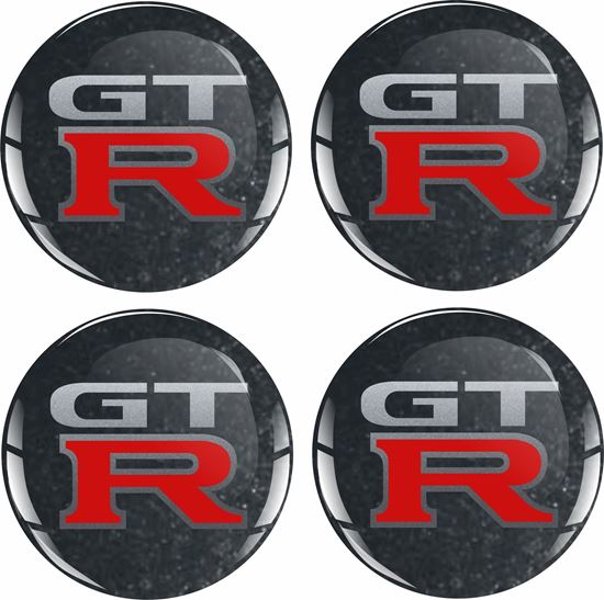 Picture of GTR Wheel centre Gel Badges