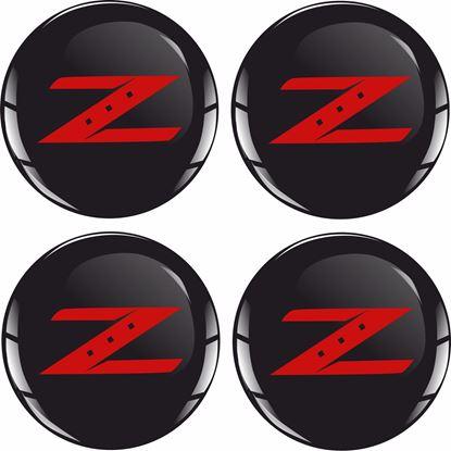 Picture of 350 / 370 Z Wheel centre Gel Badges