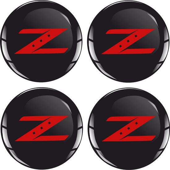Picture of 350 / 370 Z Wheel centre Gel Badges