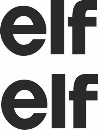 Picture of Renault elf Decals / Stickers