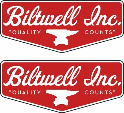 "Picture of ""Biltwell Inc"" Track and street race sponsor Decals / Stickers"