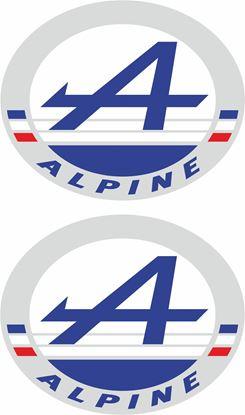 Picture of Alpine Decals / Stickers