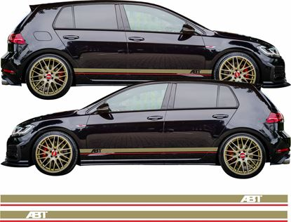 Picture of Golf MK7 ABT side Stripes  / Stickers