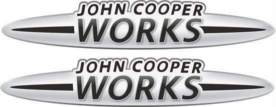 Picture of John Cooper Works Decals / Stickers BLACK
