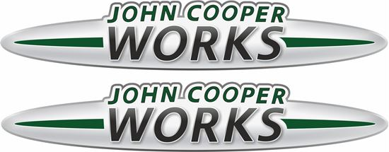 Picture of John Cooper Works Decals / Stickers GREEN