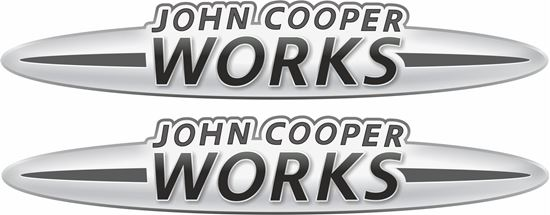 Picture of John Cooper Works Decals / Stickers GREY