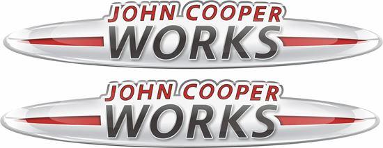 Picture of John Cooper Works Gel Badges