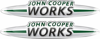Picture of John Cooper Works Gel Badges