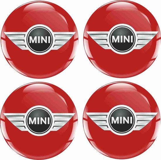 Picture of Mini Wheel centre Gel Badges
