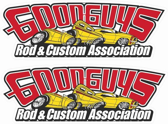 Picture of Good Guys Rod & Custom Association Decals / Stickers