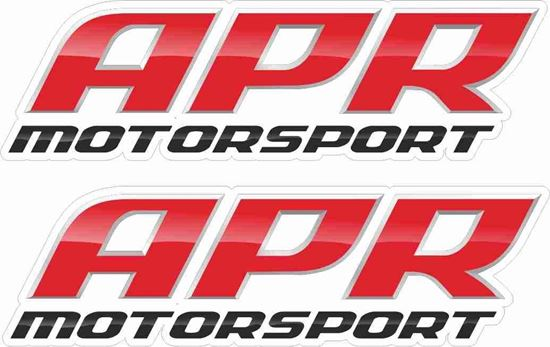 """Picture of """"APR Motorsport"""" Decals / Stickers"""