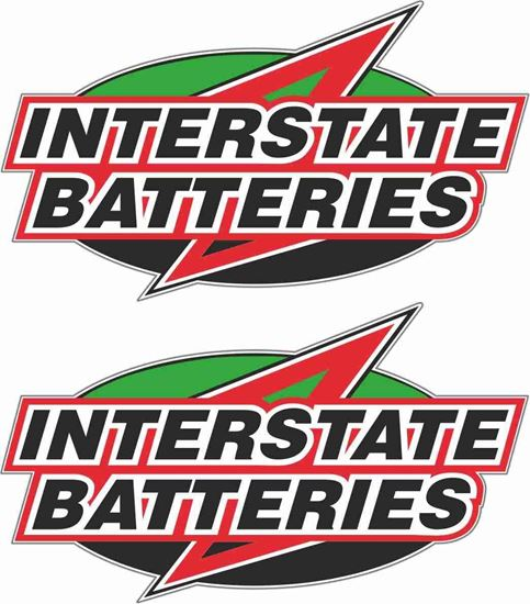 Picture of Interstate Batteries Decals / Stickers