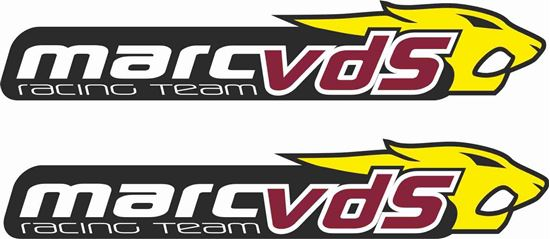 """Picture of """"Marc vds"""" panel Decals / Stickers"""