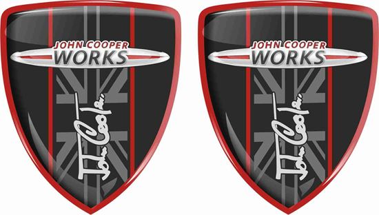 Picture of Mini JCW Badges 70mm
