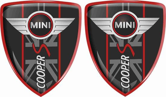 Picture of Mini Cooper S Badges 70mm