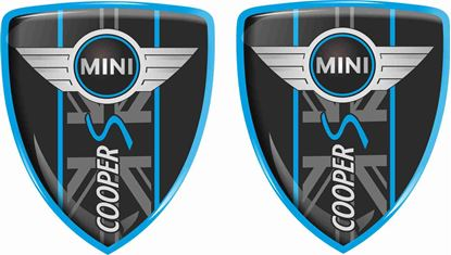 Picture of Mini Cooper S Badges 70mm