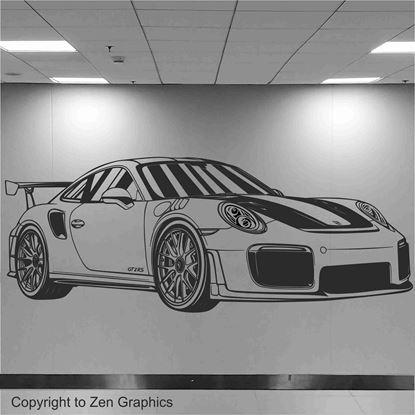 Picture of Porsche 911 GT2 RS Wall Art sticker